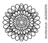 mandala vector art | Shutterstock .eps vector #662060296