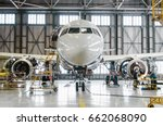 Airbus A320 For Maintenance In...