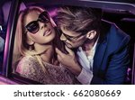 sexy couple in the car | Shutterstock . vector #662080669