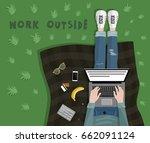Freelancer Typing On Laptop....