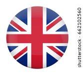 vector round badge with british ... | Shutterstock .eps vector #662102560