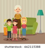 family related design | Shutterstock .eps vector #662115388
