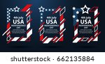 usa independence day. 4th of... | Shutterstock .eps vector #662135884