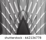 light and shadows on stairs.... | Shutterstock . vector #662136778