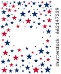american independence day. 4th... | Shutterstock .eps vector #662147239