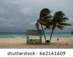 a hurricane is about to batter...   Shutterstock . vector #662161609