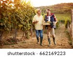 father and son celebrating... | Shutterstock . vector #662169223