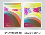 modern poster magazine layout...   Shutterstock .eps vector #662191540