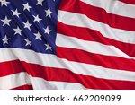usa flag background | Shutterstock . vector #662209099