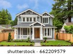 beautiful  newly built luxury... | Shutterstock . vector #662209579