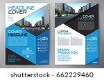 business brochure. flyer design.... | Shutterstock .eps vector #662229460