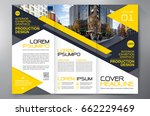 business brochure. flyer design.... | Shutterstock .eps vector #662229469
