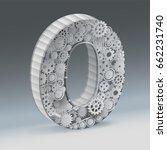 industry zero alphabet concept... | Shutterstock .eps vector #662231740