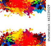 abstract watercolor background. ...   Shutterstock .eps vector #662234329