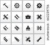 set of 16 editable toolkit...