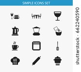 set of 12 editable kitchen...