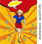 vector illustration of running... | Shutterstock .eps vector #662247190