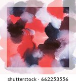 color brush on white background.... | Shutterstock . vector #662253556