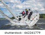 konakovo   april 20   team... | Shutterstock . vector #662261779