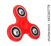 fidget finger spinner... | Shutterstock . vector #662262778