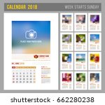 Design Of Wall Monthly Calenda...