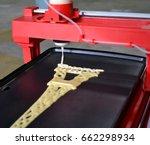3d printer that printing a...   Shutterstock . vector #662298934
