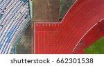 aerial running tracks   Shutterstock . vector #662301538