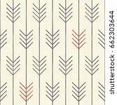 seamless abstract  pattern.... | Shutterstock .eps vector #662303644