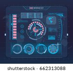 abstract future  concept vector ... | Shutterstock .eps vector #662313088