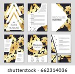 abstract vector layout... | Shutterstock .eps vector #662314036