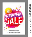 weekend sale with flat 50  off