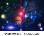 planet   elements of this image ... | Shutterstock . vector #662320609