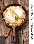 french tartiflette | Shutterstock . vector #662324740
