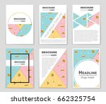 abstract vector layout... | Shutterstock .eps vector #662325754