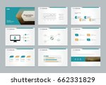 abstract presentation slide...   Shutterstock .eps vector #662331829