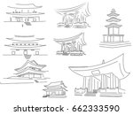 graphic representation of... | Shutterstock .eps vector #662333590