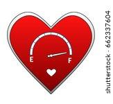 love meter | Shutterstock . vector #662337604