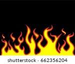 fire flames style carton   Shutterstock . vector #662356204
