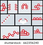 collection of element for... | Shutterstock . vector #662356240