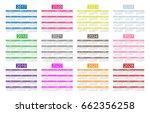 english calendar for years 2017 ... | Shutterstock . vector #662356258
