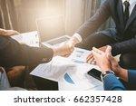 business concept  businessman... | Shutterstock . vector #662357428