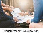 business concept  business man... | Shutterstock . vector #662357734