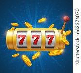 winner gambling vector...   Shutterstock .eps vector #662376070