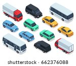 isometric vehicles and cars for ...