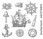 Set Sea Adventure. Anchor ...