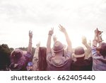 people dancing on fresh air  | Shutterstock . vector #662405440