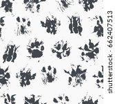 abstract seamless pattern  ... | Shutterstock .eps vector #662407513