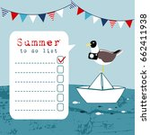 summer greeting card ...   Shutterstock .eps vector #662411938