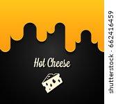 hot cheese logo design... | Shutterstock .eps vector #662416459