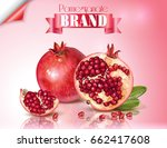Vector Banner Of Pomegranate...